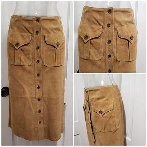 Ralph Lauren Suede Skirt 2